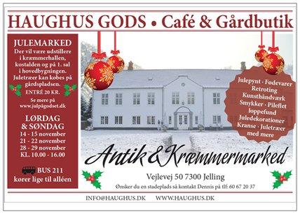 Julemarked på Haughus Gods